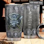 Firefighter Metal Personalized MDA1611007 Stainless Steel Tumbler