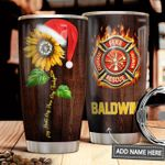 Firefighter Personalized MDA1611008 Stainless Steel Tumbler