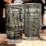 Marine Facts Personalized THA1611014 Stainless Steel Tumbler