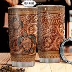 Tortoise Personalized THA1611016 Stainless Steel Tumbler