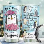 Learned From Penguins KD2 KHM1611004 Stainless Steel Tumbler
