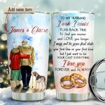Old Couple Beagle Personalized KD2 HRX1611001 Stainless Steel Tumbler