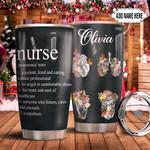 Organ Nurse Personalized TAS1611008 Stainless Steel Tumbler