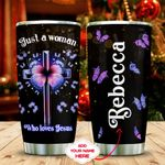 Jesus Butterfly Lover Personalized KD2 MAL1611013 Stainless Steel Tumbler