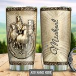 Personalized Horse Bronze Style TTZ1611020 Stainless Steel Tumbler