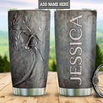 Personalized Dinosaur Fossil HLZ1611012 Stainless Steel Tumbler
