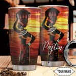 Black Women Personalized THA1711012 Stainless Steel Tumbler