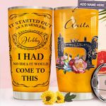 Sewing Personalized MDA1711008 Stainless Steel Tumbler