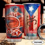 Puerto Rico Personalized THA1711015 Stainless Steel Tumbler