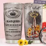 Black Queen Personalized MDA1711002 Stainless Steel Tumbler