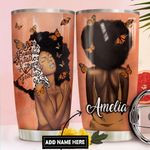 Black Women Personalized DNR1711002 Stainless Steel Tumbler