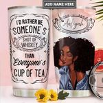 Black Women Personalized PYR1711003 Stainless Steel Tumbler