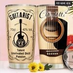 Guitar Personalized NNR1711015 Stainless Steel Tumbler