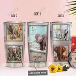 Elephant Personalized PYR1711008 Stainless Steel Tumbler