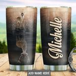 Personalized Deer HHZ1711013 Stainless Steel Tumbler