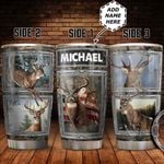 Personalized Deer HHZ1711009 Stainless Steel Tumbler