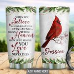 Personalized Cardinal Love Never Dies TTZ1711006 Stainless Steel Tumbler