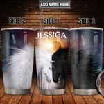 Personalized Horse Sun Moon HLZ1711015 Stainless Steel Tumbler