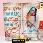 Hummingbird Faith Personalized DNR1611013 Stainless Steel Tumbler