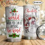 Snowman Personalized NNR1611020 Stainless Steel Tumbler