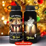 God Way Maker Personalized KD2 MAL1711004 Stainless Steel Bottle With Straw Lid