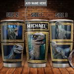 Personalized Types Of Dinosaur HLZ1811022 Stainless Steel Tumbler