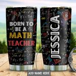 Personalized Math Teacher TTZ1811020 Stainless Steel Tumbler