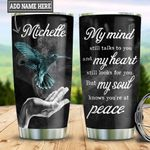 Personalized Hummingbird Peace TTZ1811017 Stainless Steel Tumbler