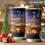 Christ Christmas Personalized PYR1811007 Stainless Steel Tumbler