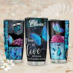 Butterfly Frame Personalized TAS1811001 Stainless Steel Tumbler
