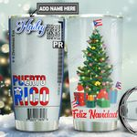 Puerto Rico Ticket Personalized TAS1811005 Stainless Steel Tumbler