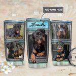 Rottweiler Personalized MDA1811005 Stainless Steel Tumbler
