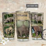 Triceratops Personalized MDA1811008 Stainless Steel Tumbler