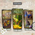 Butterfly Personalized THA1811012 Stainless Steel Tumbler