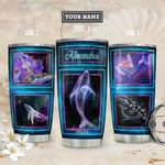 Galaxy Whale Personalized THA1811015 Stainless Steel Tumbler