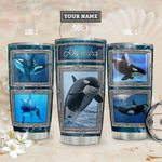 Killer Whale Personalized THA1811016 Stainless Steel Tumbler