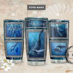 Whale Personalized THA1811018 Stainless Steel Tumbler