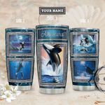 Killer Whale Personalized THA1811017 Stainless Steel Tumbler