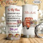 Red Truck To My Mom Personalized HTC18110013 Stainless Steel Tumbler