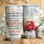 Red Truck To My Dad HTC18110010 Stainless Steel Tumbler