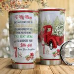 Red Truck To My Mom HTC18110011 Stainless Steel Tumbler