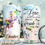 Dragonfly Wings Ready Personalized KD2 HRX1811006 Stainless Steel Tumbler