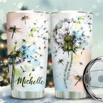 Dragonfly Be Remembered Personalized KD2 BGX1811004 Stainless Steel Tumbler