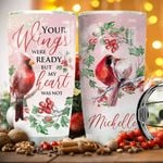 Cardinal Heart Personalized KD2 BGX1811002 Stainless Steel Tumbler
