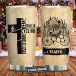 Cycling Faith Personalized KD2 ZZL1811008 Stainless Steel Tumbler