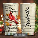 Cardinal Not A Widow Personalized KD2 KHM1811004 Stainless Steel Tumbler