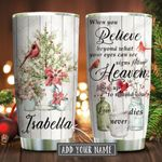Cardinal Love Never Dies Personalized KD2 KHM1811003 Stainless Steel Tumbler