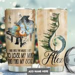 Piano Soul Personalized TAS1911007 Stainless Steel Tumbler