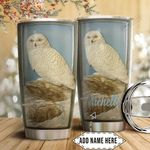 Owl Ceramic Personalized HTC1911012 Stainless Steel Tumbler