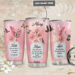 Hummingbird Faith Personalized PYR1911015 Stainless Steel Tumbler